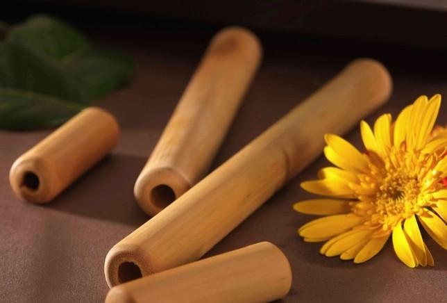 Massaggio con il Bamboo
